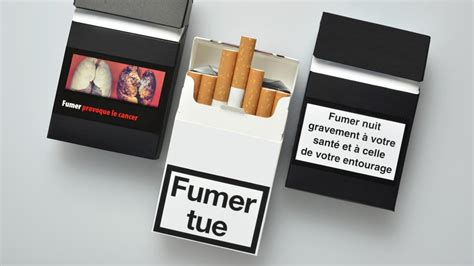 "packaging ""fumer tue"""